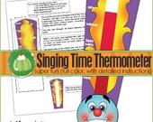 SINGING TIME THERMOMETER  - Downloadable File