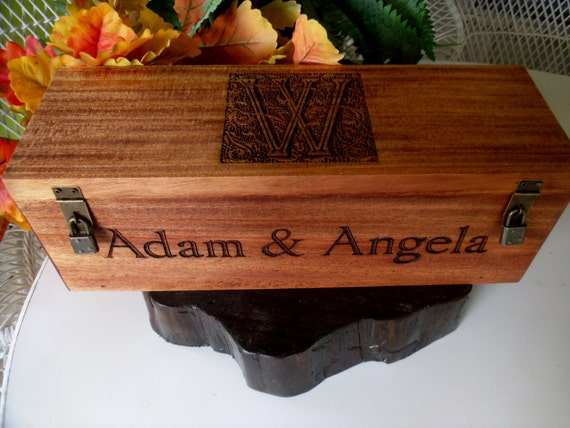 Wedding Gift Wine Box Uk : Wine Box, Wine Box, Wedding Gift, Anniversary Gift, Engraved Wine Box ...