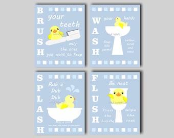 Rubber duck bathroom | Etsy