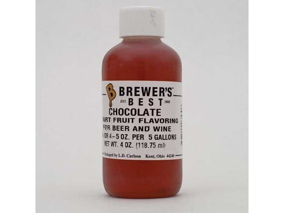 Chocolate Flavoring For  Home Wine Making Beer Making 4 Ounces