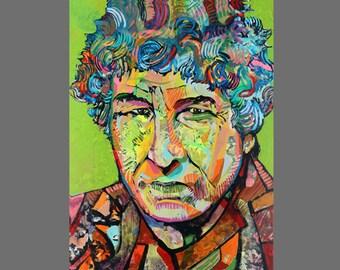 Bob Dylan  Canvas Giclee