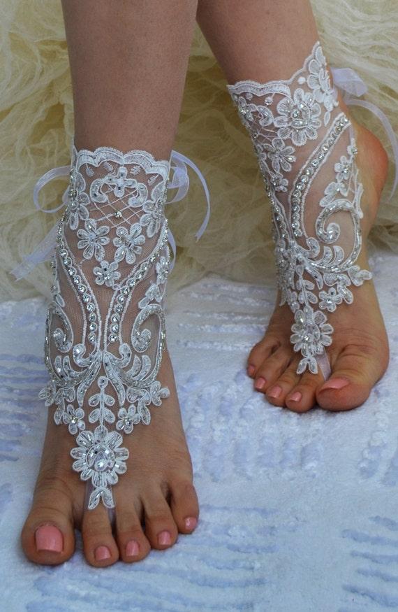 barefoot wedding shoes - photo #7