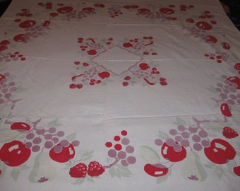 Cotton and/or Linen tablecloth