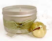 Mistletoe Scented Candle 8oz Tin Holiday Candle
