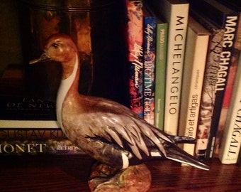 Vintage Duck Figurine Made in Italy