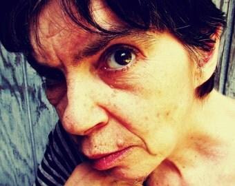 Female Color Portrait photography~Fine Art Photography~Close-up Face Portrait~Color Portrait~Mdogstudios~