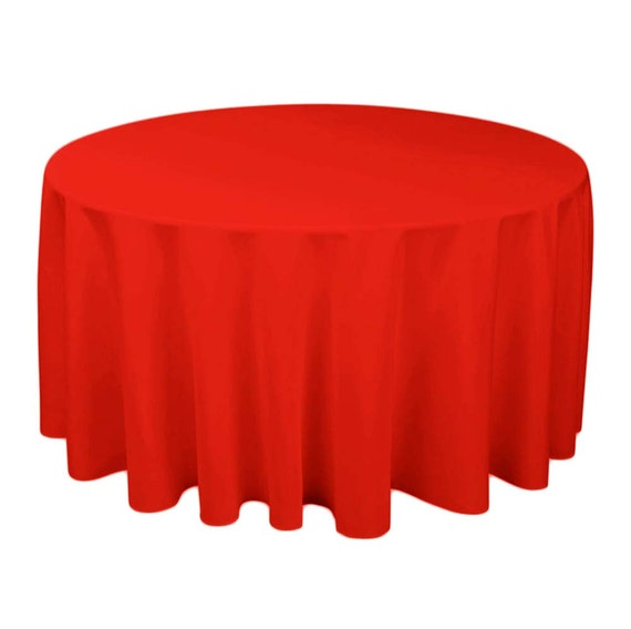 100 polyester tablecloth