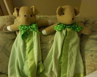 Bear Blanket Buddy