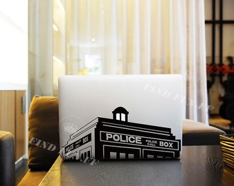 MacBook air decals MacBook Skin MacBook Protector macbook air skin macbook pro skin 2227黑色房子