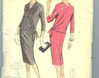wrap around dress instructions