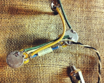 Custom wiring harness for PRS guitars (boutique .033 cap)