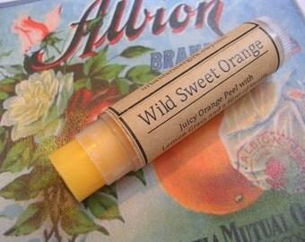 Wild Sweet Orange Natural Lip Balm