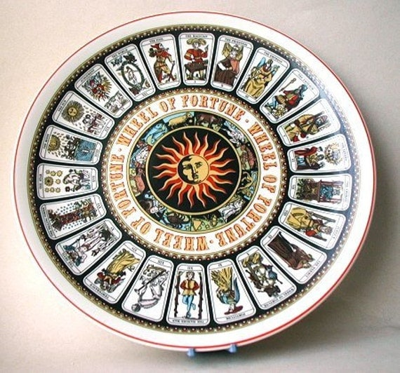 fabulous wedgwood wheel of fortune tarot card ForDecorative Tarot Cards