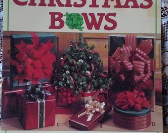 Create Your Own Christmas Bows 1998 Leisure Arts Leaflet