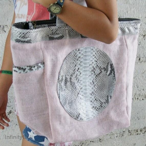 Skin Fabric Bali Leather Snake Skin Fabric