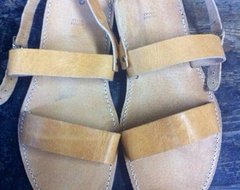Authentic handmade, Greek leather sandals