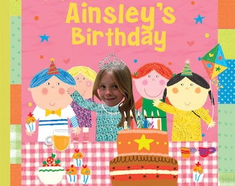 Personalized Book - The Birthday Girl - Personalized Children Book - Gift for Kids, Personalized Gifts for Kids, Keepsake Book