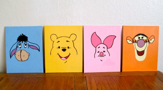 Items Similar To Modern Winnie The Pooh And Friends