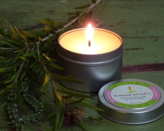 25 Hour Pure Beeswax Tin Candle