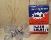 Westinghouse No 5 Flashbulb 6 Pack
