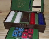 Vintage Gambling Set