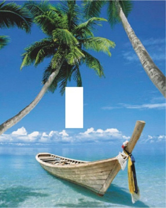 palm trees boat-#5