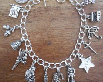 Peter Pan Charms Bracelet