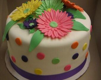 Gerber Daisy Cake Topper