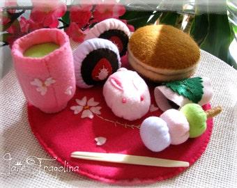 WAGASHI set - Japanese sweets