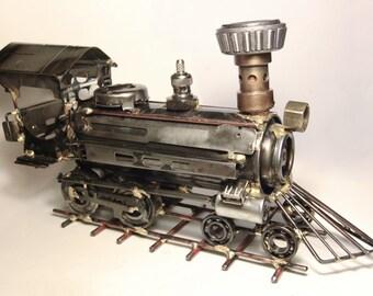 Steam Locomotive Sculpture