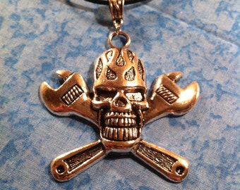 Skull Wrench Necklace