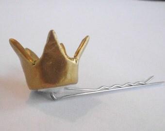 Crown Mama Mini Crown Bobby Pin Princess Hair pin