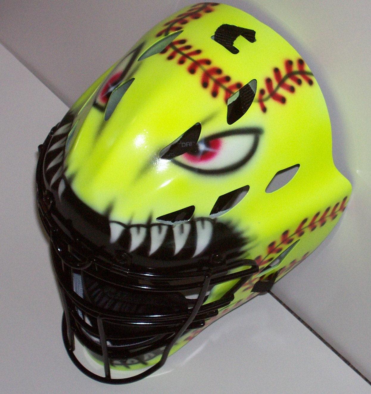 Catcher Softball Softball Catchers Helmet