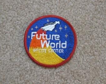 Vintage Souvenir 1982 Future World Epcot Center Patch from Walt Disney World in Florida