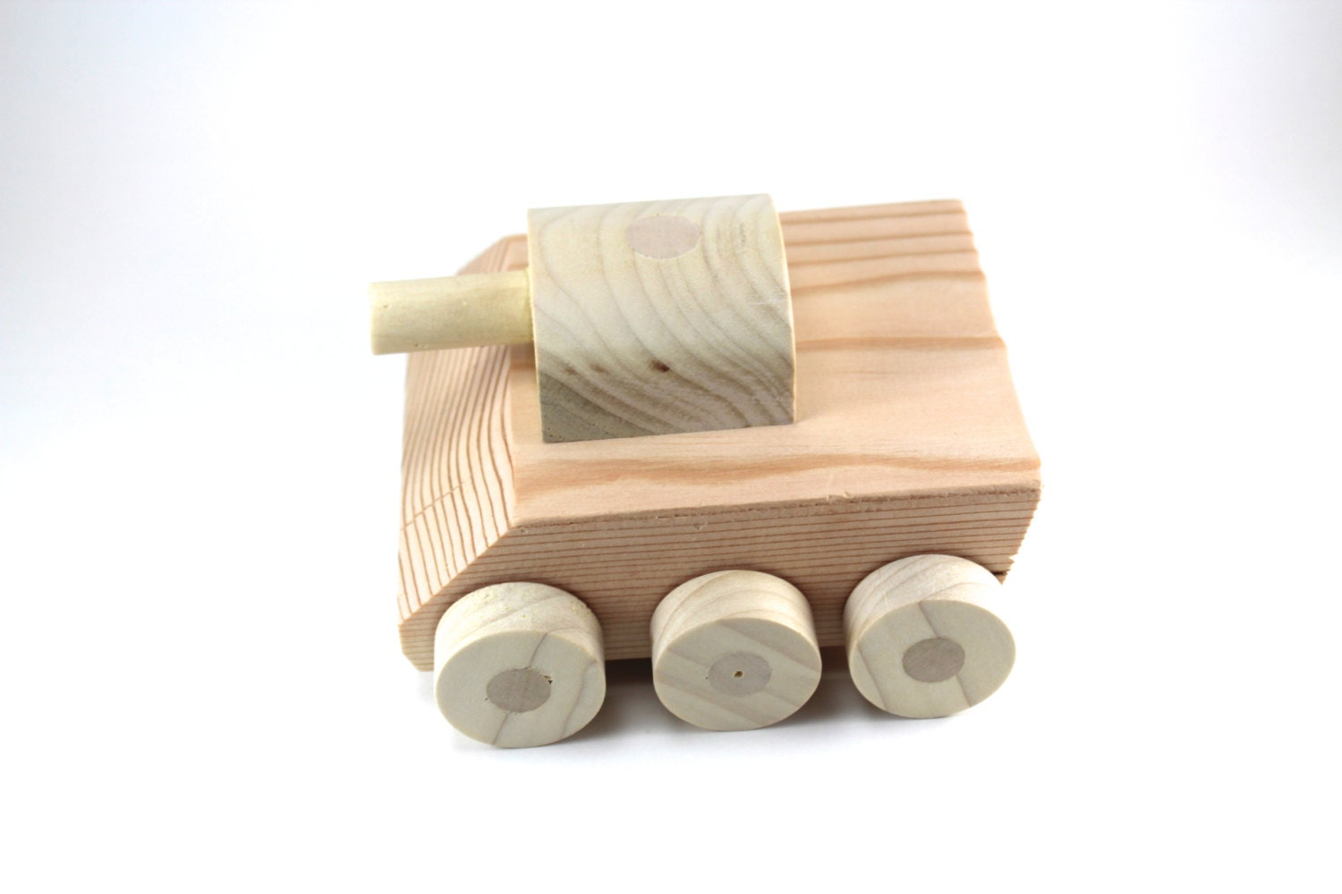Wooden Toy Tank All natural handmade wooden toy tank great for by ...