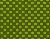 Michael Miller Studios - Ta Dot - Moss - 1 yard -Cotton Fabric