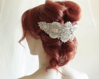 Wedding Headpiece - Chiascio ( made to order)