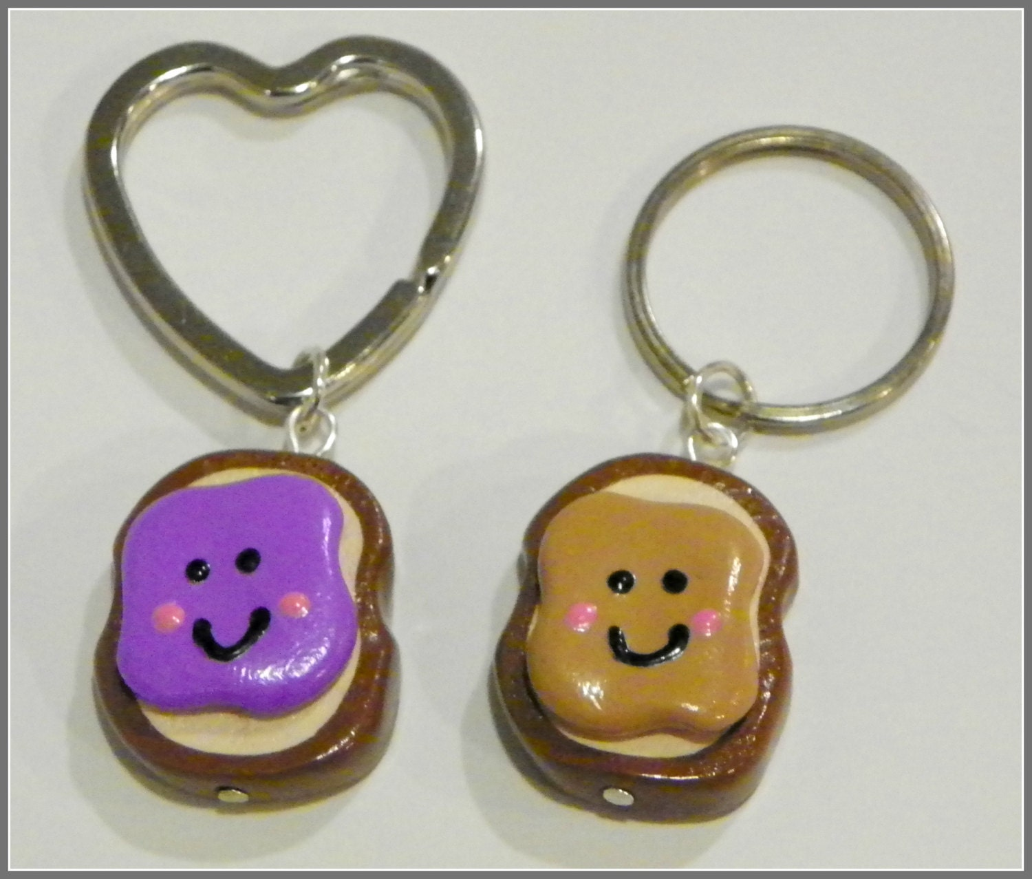 Peanut Butter And Jelly Best Friend Key By Sassystampeddesigns