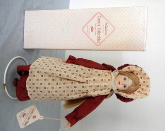 RUSS Porcelain Country Collectibles Doll - Barbara