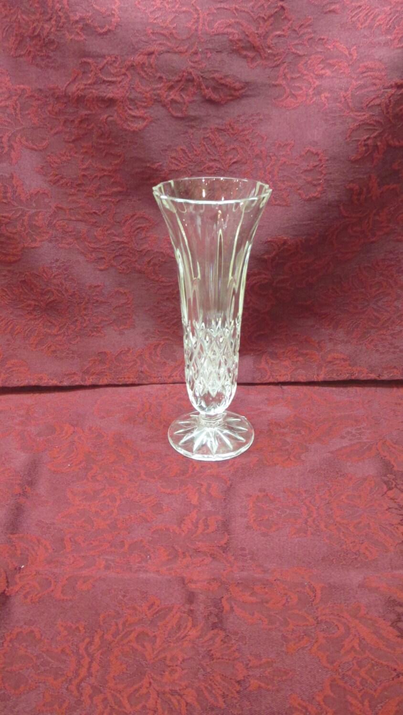 Vintage Gorham Crystal King Edward Footed Bud Vase