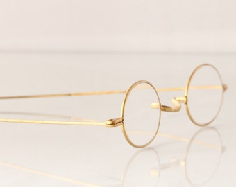 Antique Gold spectacles, The Evening Train