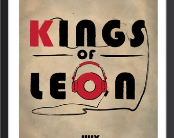 Kings Of Leon Poster