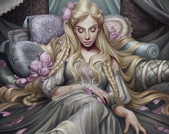 Sleeping Beauty Limited Edition Fine Art Print
