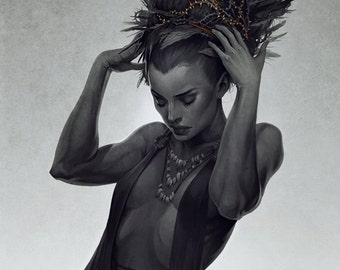 Tithe Limited Edition Fine Art Print