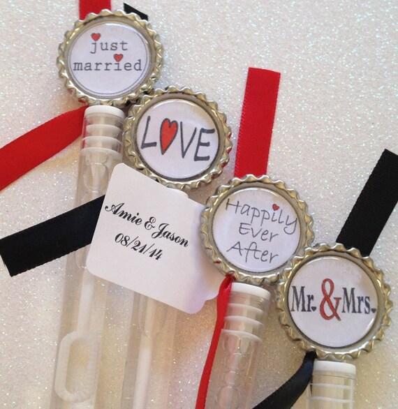 10 Wedding Bubble Favors Wedding Favors By TotalBlissBoutique