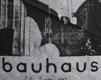 BAUHAUS bela lugosi is dead BACKPATCH goth punk horror