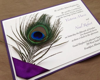 Peacock Wedding Invitations – gangcraft.net
