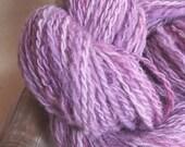 Wenslydale Merino Hand spun wool - Sport Weight, 2 ply, 134yds, 3oz, organic yarn, hand dyed