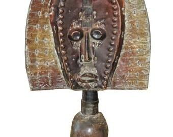 Unusual Antique African Fertility God Doll Sculpture