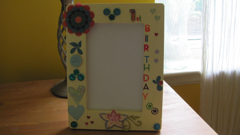 Studio Decor St Birthday Frame